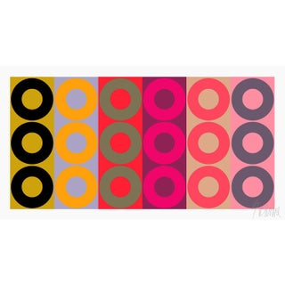 "Color Harmony No. 2 Fine Art Print 21.5"" X 11.5"" by Liz Roache For Sale"