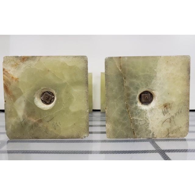 Late 19th Century French Marble and Onyx Tazzas - a Pair For Sale In New Orleans - Image 6 of 7