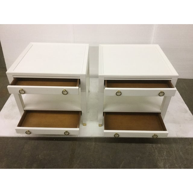 Malibu Loft White End Tables - A Pair - Image 6 of 9