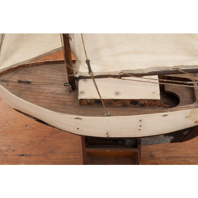 Early 20th Century English Pond Yacht - Image 6 of 12