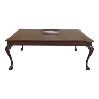 Henredon Rittenhouse Square Collection Clawfoot Dining Room Table For Sale