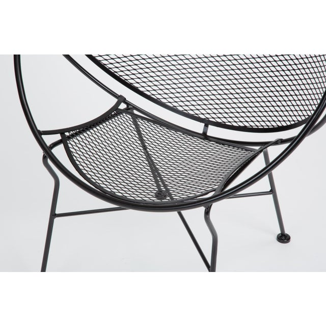 Scoop Lounge Chair With Ottoman by Maurizio Tempestini for Salterini For Sale - Image 10 of 13