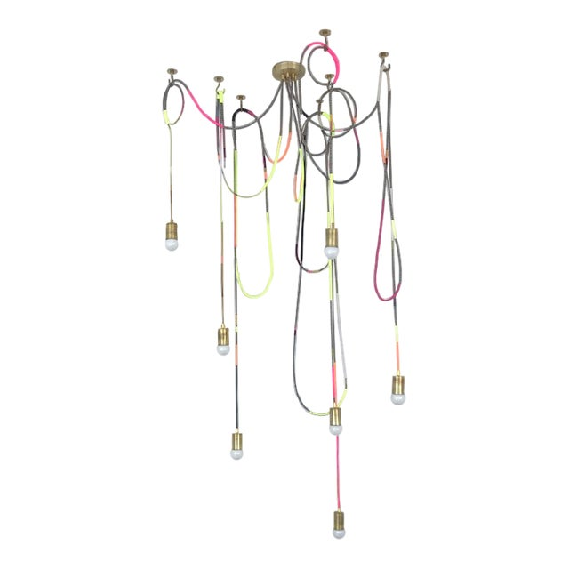 Lasso Chandelier by Chad Wentzel Made For Sale