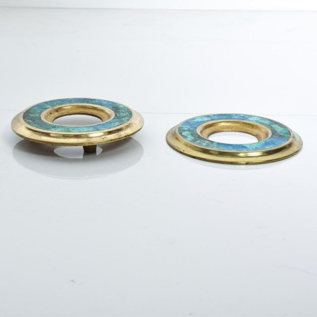 We are pleased to offer for your consideration a vintage set of door rings-pulls by Pepe Mendoza, Made in Mexico circa the...