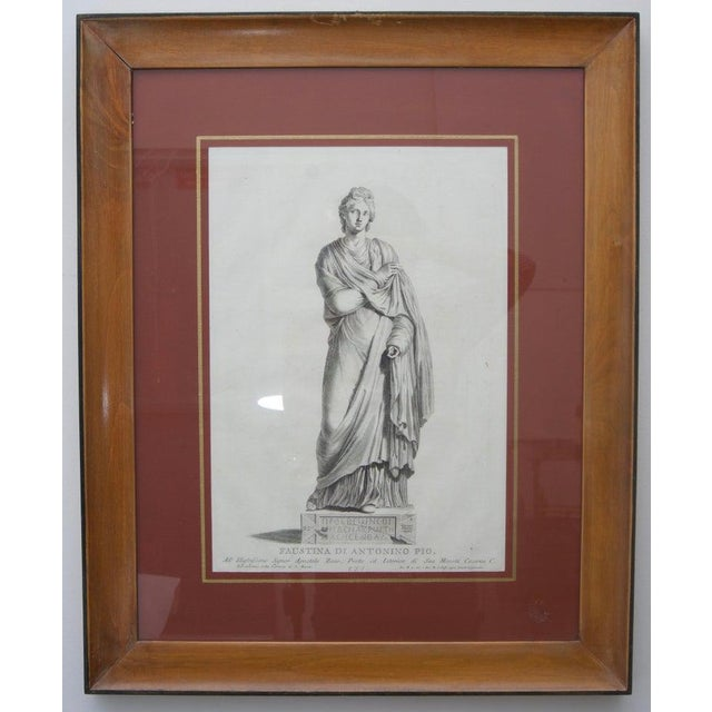 19th Century Neoclassic Engravings - Set of 4 For Sale - Image 10 of 13