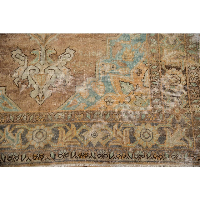 """Vintage Distressed Oushak Carpet - 5'6"""" X 8'6"""" For Sale In New York - Image 6 of 13"""