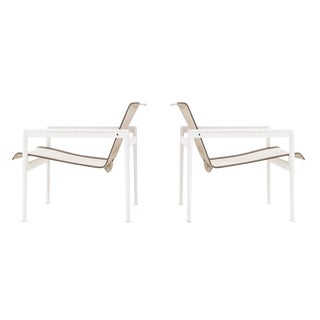 Pair of Richard Schultz 1966 Series Lounge Chair with Arms For Sale