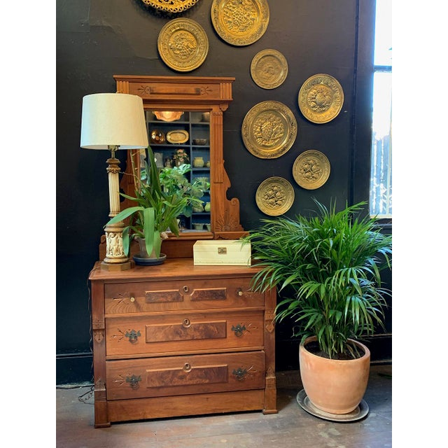 eautiful East Lake dresser with original mirror. Mirror can be detached. A stunning nearly mint condition and piece of...