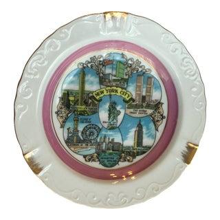 New York City Souvenir Dish For Sale