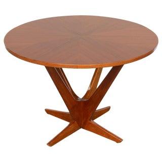 1960s Mid-Century Modern Søren Georg Jensen Round Coffee Table For Sale
