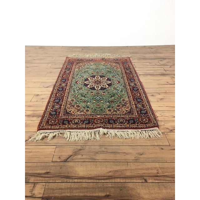Contemporary Kashan Style Rug - 3′2″ × 5′8″ - Image 2 of 4