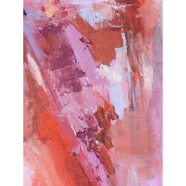 BT Wohl Mid-Century Abstract Oil Painting 1966 - Image 9 of 11