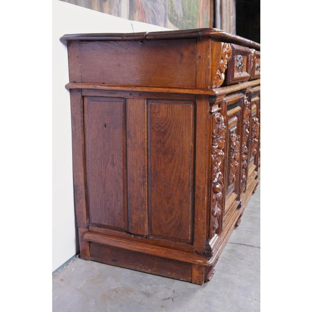 Rare Period Louis XIII Buffet, Circa 1630 For Sale - Image 9 of 11