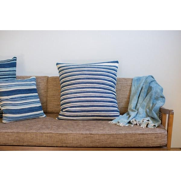 Oversize Indigo Blue Pillow - Image 3 of 6