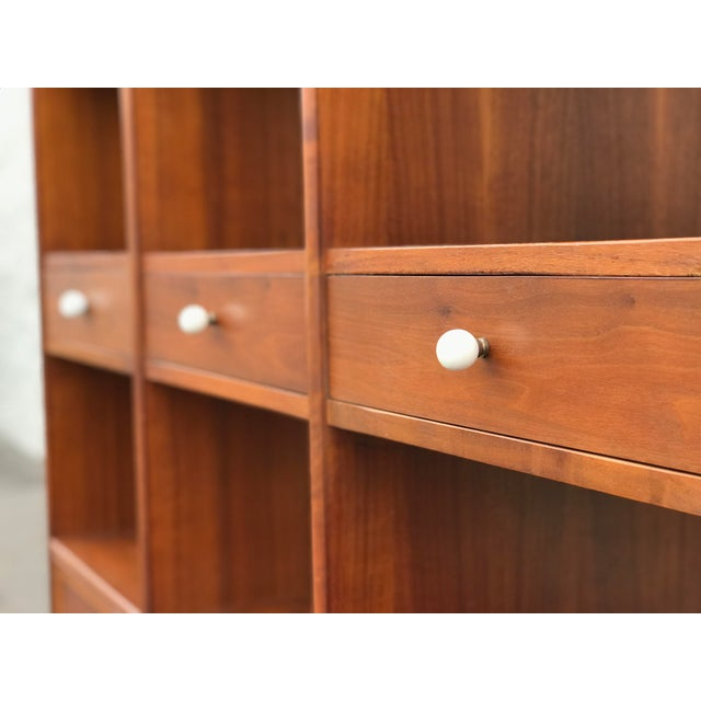 Mid 20th Century Mid Century Modern Drexel Declaration Wall Unit For Sale - Image 5 of 13