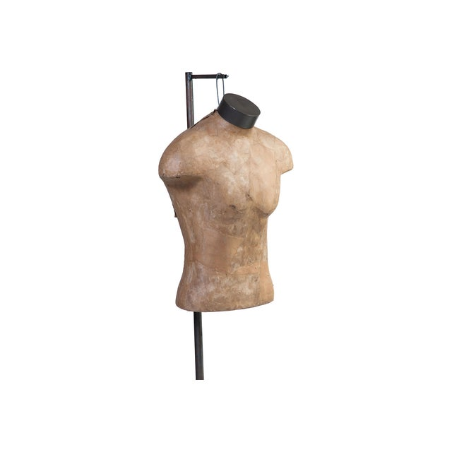 Male Mannequin Torso With Adjustable Stand - Image 2 of 4