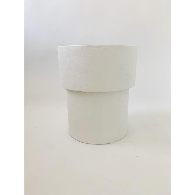 The Matilda Mushroom Shape Plaster Side Table For Sale In Las Vegas - Image 6 of 6