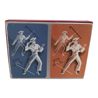 Vintage Hamilton Double Graphic Playing Card Set