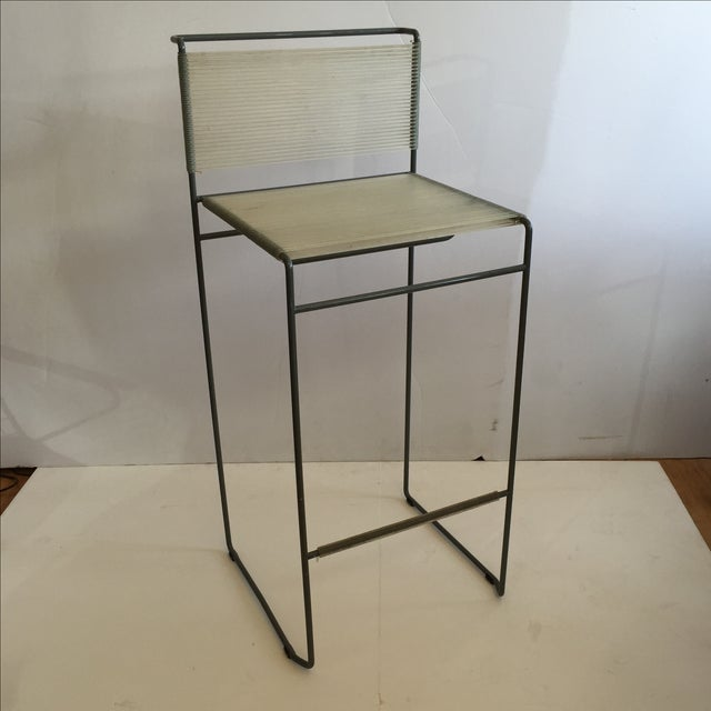 Giandomenico Belotti 1980's Spaghetti Bar Stool - Image 2 of 6