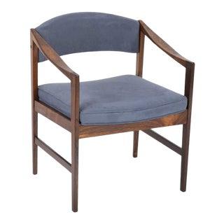 Mid-Century Modern Danish Rosewood Desk Chair For Sale