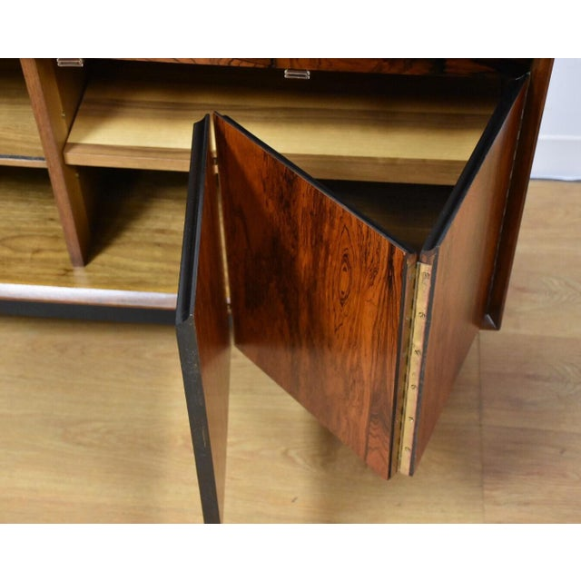Mid-Century Rosewood and Walnut Credenza - Image 4 of 11