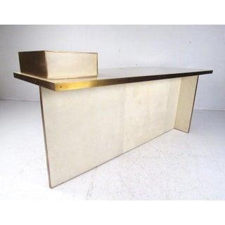"""Modern """"Dillon"""" Executive Desk Preview"""