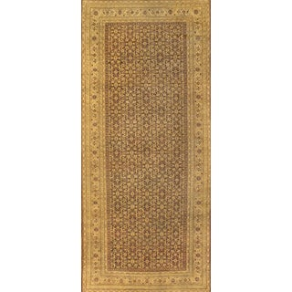 Pasargad Antique Indian Agra Rug - 5′ × 11′6″ For Sale