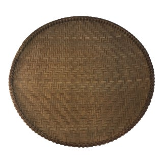Vintage Flat Drying Basket or Tray For Sale