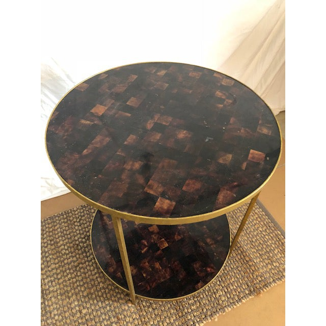 This is an Oly Studio side table. The piece was made in the past decade.