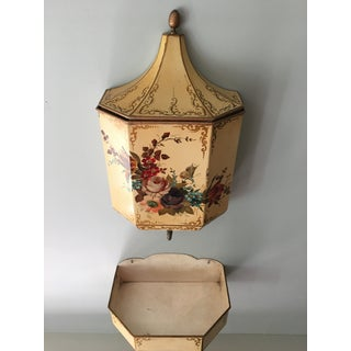French Painted Faux Garden Wall Fountain Set - a Pair Preview