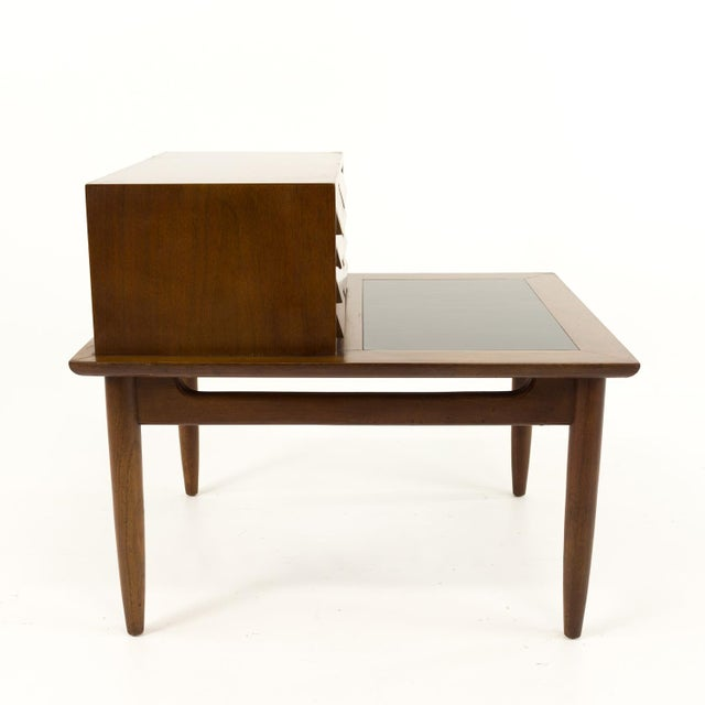 Brown Mid Century Modern Merton Gershun for American of Martinsville Nightstand For Sale - Image 8 of 10