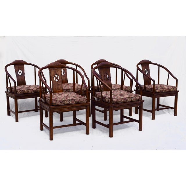 Henredon Chinoiserie Dining Room Chairs - Set Of 6