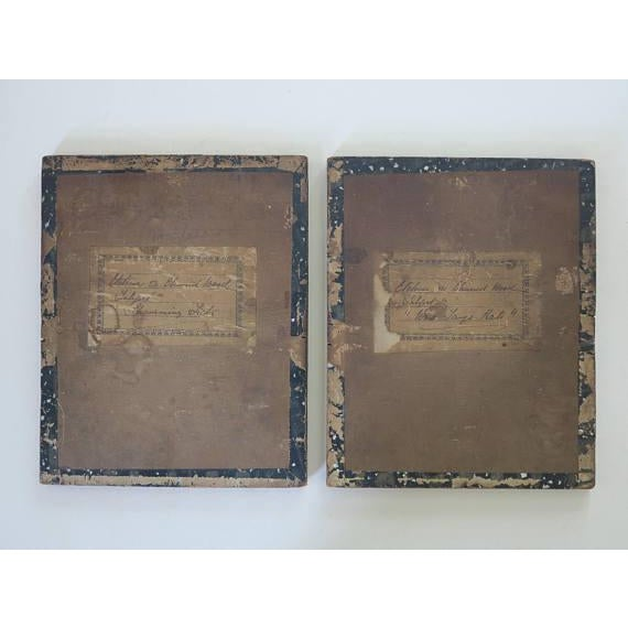 Late 19th Century English Victorian Pyrography Etchings on Charred Wood After Abbott Henderson Thayer - a Pair For Sale - Image 5 of 7