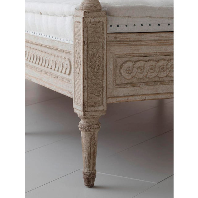 Swedish Daybed Sofa in the Gustavian Style For Sale - Image 10 of 11