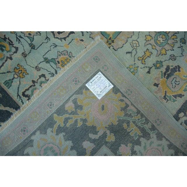 Turkish Anatolian Modern & Decorative Oushak Rug - 5′10″ × 8′ For Sale - Image 4 of 5