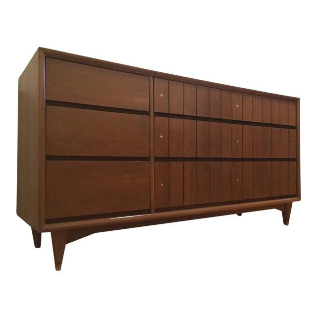 Kroehler Mid-Century Modern Low Boy Dresser - Image 1 of 4
