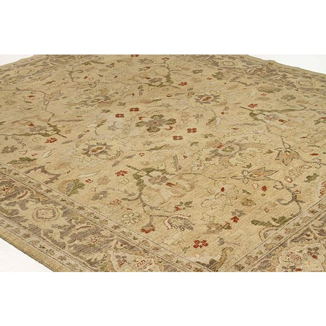 """Traditional Contemporary Afghan Tabriz Style Rug-8x9'9"""" For Sale - Image 3 of 5"""