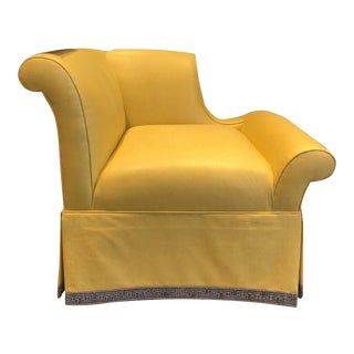 Century Furniture Godwin Laf Skirted Chair For Sale