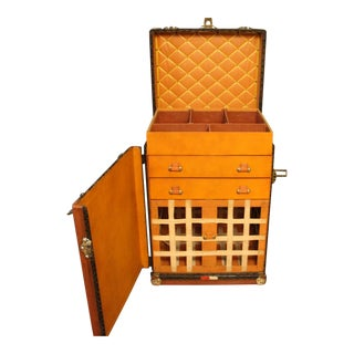Rare Made to Order 1930s Goyard Trunk For Sale