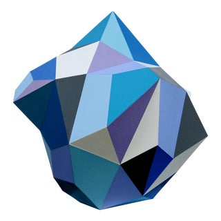 21st Century Blue Diamond Sculpture by Sassoon Kosian For Sale
