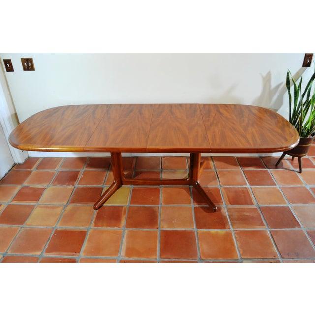 E. Valentinsen Danish Teak Expandable Dining Table For Sale - Image 10 of 10
