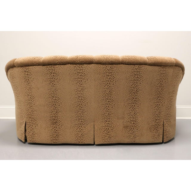 """Marge Carson Marge Carson Transitional 74"""" Loveseat For Sale - Image 4 of 13"""