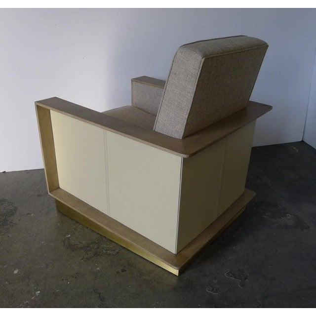 Metal Max Modern Club Chair by Paul Marra For Sale - Image 7 of 12