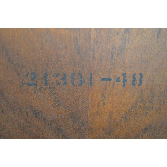 Mid Century Modern Walnut Low 4 Door Credenza Cabinet For Sale In Philadelphia - Image 6 of 13