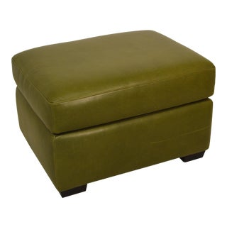 Lee Leather Storage Ottoman