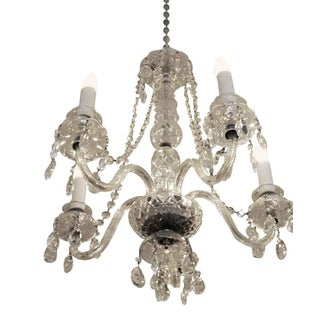 Restored Waterford Chandelier With Czech Crystals Preview