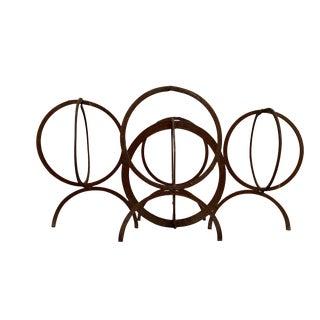 Metal Post Modern Rust Sculpture For Sale