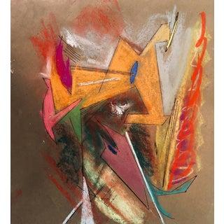 """""""Fantasmik"""" Original Pastel by Erik Sulander 13x12 For Sale"""