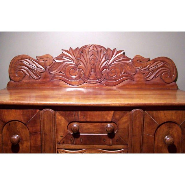 Early 19th C Caribbean Mahogany Sideboard or Cupping Table For Sale - Image 4 of 4