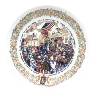 LimogesLa Fete Du Retour Triomphal Plate